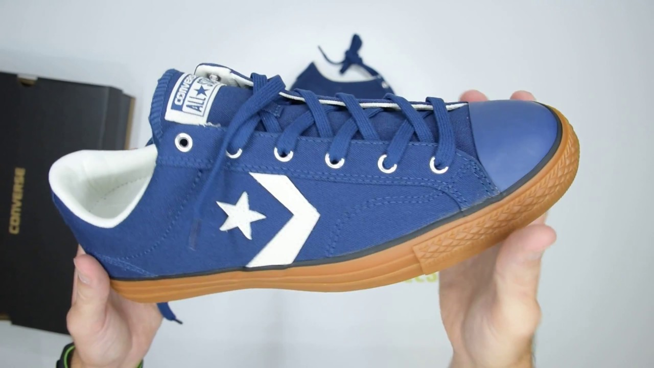 9a11168cc70d98 Converse Star Player Ox - Navy Gum