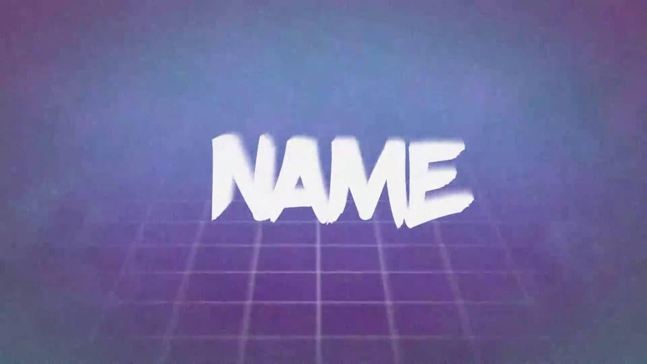 intro template 2 vaporwave harry b youtube
