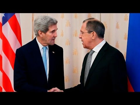 Kerry holds joint press conference with Russia's foreign minister