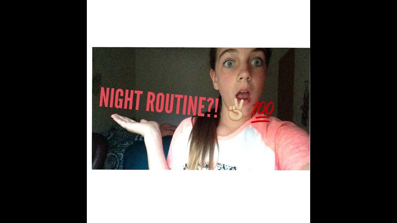 Night routine!? - YouTube