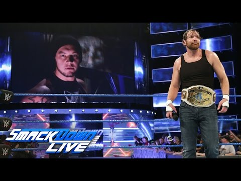Baron Corbin launches a sneak attack on Dean Ambrose: SmackDown LIVE, March 7, 2017