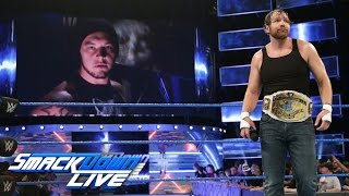 Video Baron Corbin launches a sneak attack on Dean Ambrose: SmackDown LIVE, March 7, 2017 download MP3, 3GP, MP4, WEBM, AVI, FLV November 2017