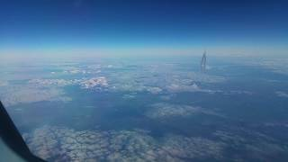 Aircraft flying close - Etihad
