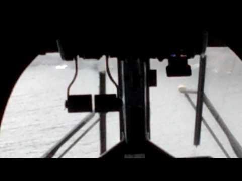 WinAir Dash-6 Landing in Saba, Dutch Antilles 8/27/2012