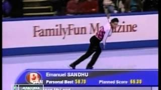 Evgeni Plushenko 2003-2004 GPF warmup -2- LP