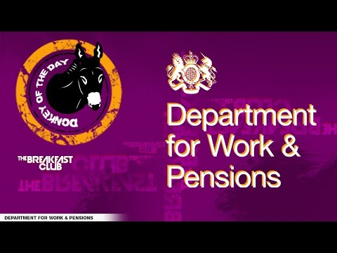Department Of Work And Pensions - Donkey Of The Day (12-05-16)