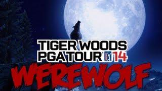 Tiger Woods PGA TOUR 14 - Werewolf Easter Egg