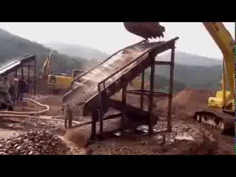 Nine World Gold Mining In Laos.