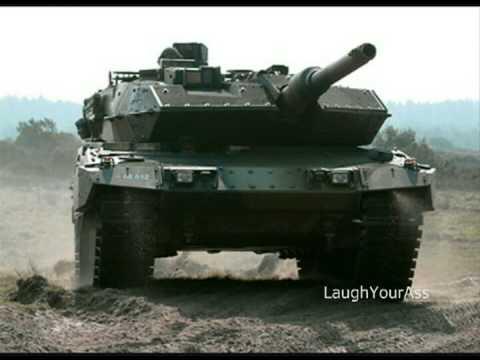 Dog Cat Leopard A Main Battle Tank