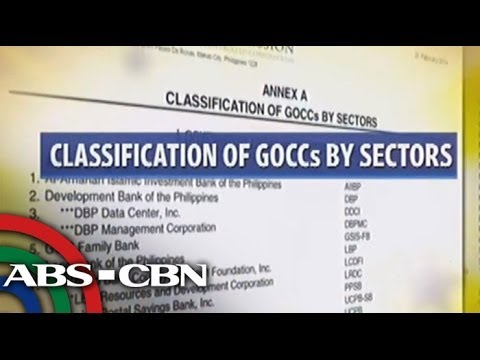More GOCCs to be abolished