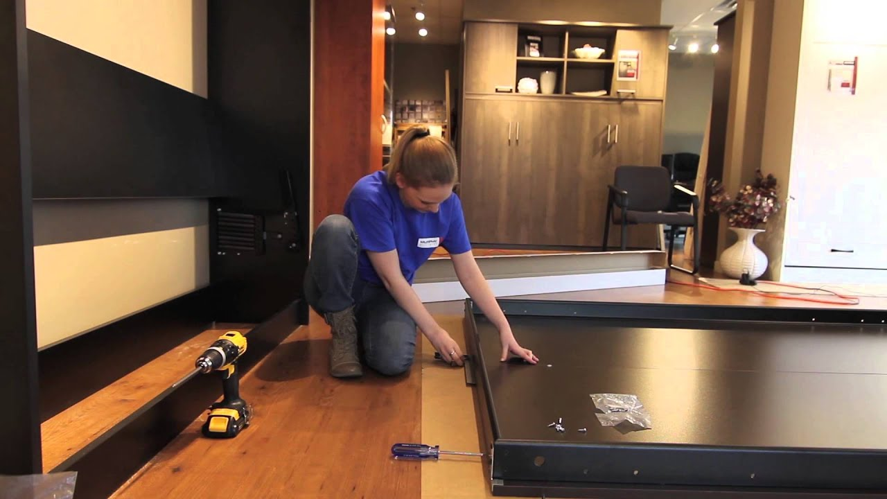 7 assembling the murphy bed frame youtube