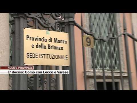 Etg - Nuove province: Como con Lecco e Varese