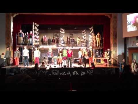 """Ossining High School's Drama Club will perform """"Rent"""" this weekend."""