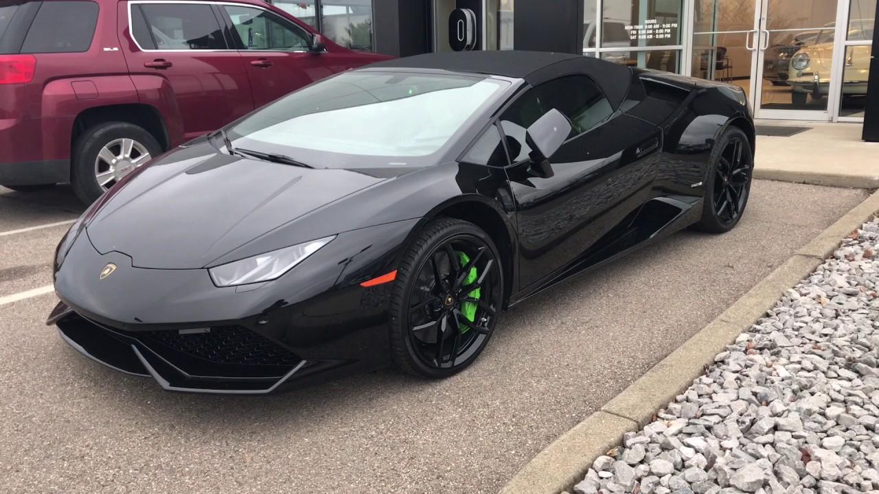 Lamborghini Huracan Spyder Blacked Out 👍🏼 Youtube