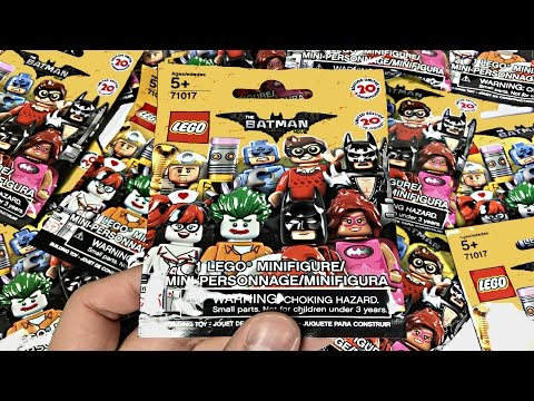 LEGO Batman Minifigures - 10 pack opening!