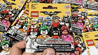 LEGO Batman Minifigures - 10 pack opening!(I open up 10 packs of the LEGO Batman Movie Minifigures series! I couldn't resist doing an unboxing so I purchased these ten mystery blind bags off of eBay., 2016-12-13T20:23:38.000Z)