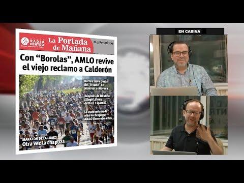 EN VIVO l Con 'BOROLAS', AMLO revive el viejo RECLAMO a FELIPE CALDERÓN 23/08/19