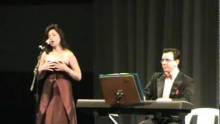 Soprano Mônica Nogueira acompanhada pelo maestro Alexei Lisounenko na Vila Zelina