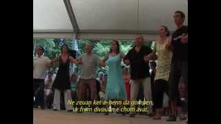 Fest-Noz, festive gathering based on the collective practice of traditional dances of Brittany
