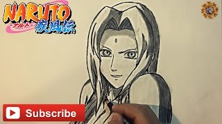 Speed Drawing Tsunade [ Naruto Shippuden ] Drawing Tutorial HD