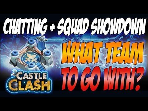 Castle Clash - Chatting, Squad Showdown