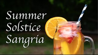 How to make easy summer sangria