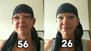 Woman Gives Herself An Amazing Facelift In 6 Minutes