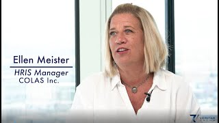 Veritas Prime and SAP SuccessFactors Customer Testimonial: Ellen Meister with Colas Inc.