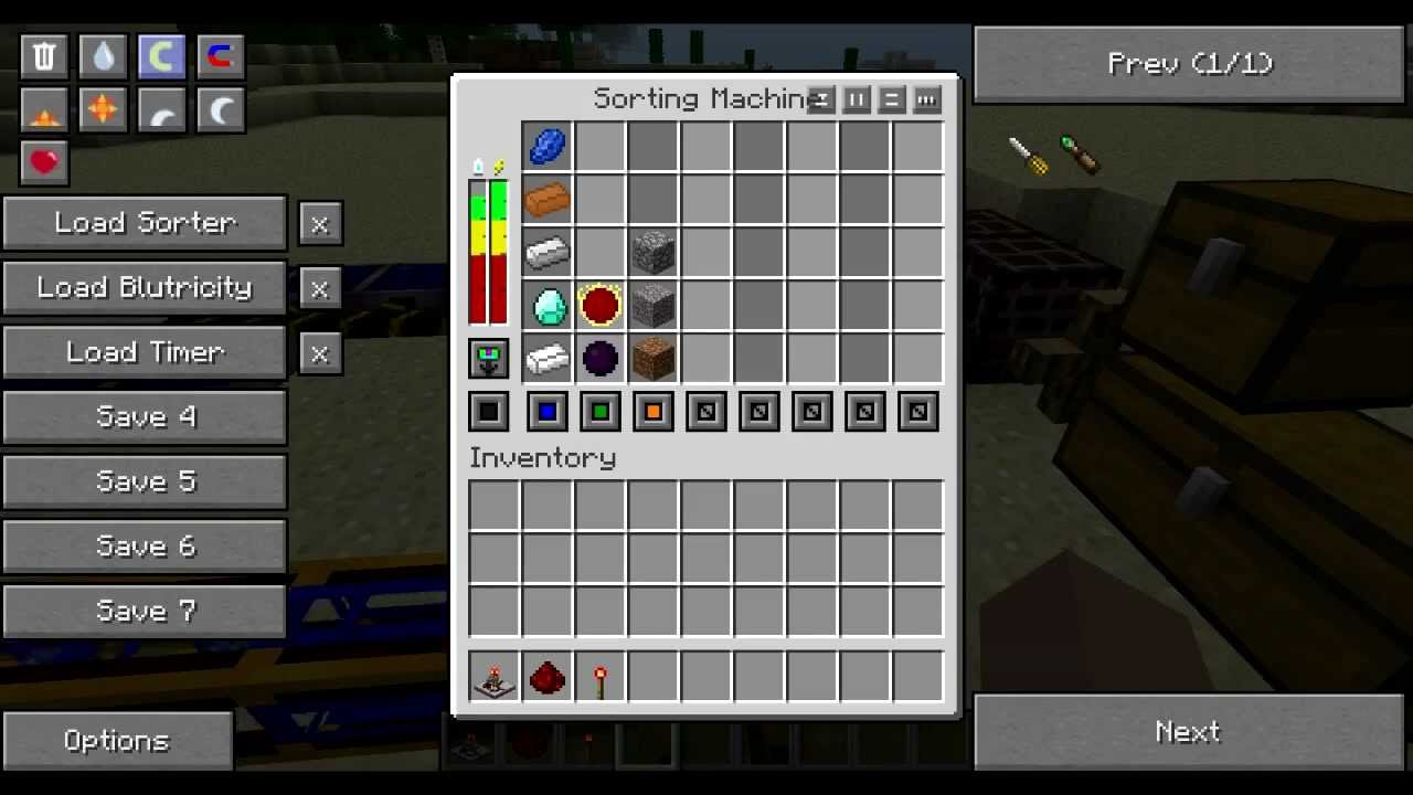 tekkit sorting machine