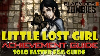 Little Lost Girl Achievement Guide (solo) | Black Ops 2 Zombies