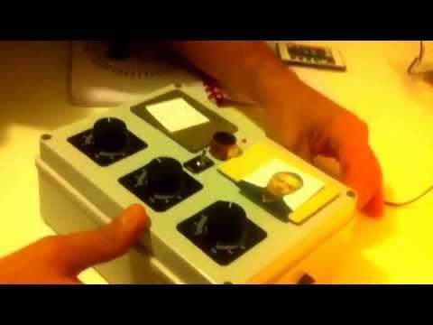 Radionica - Radionics - presentation of my 3 dial radionic machine