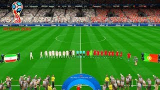 Iran vs Portugal | FIFA World Cup Russia 25 June 2018 Gameplay