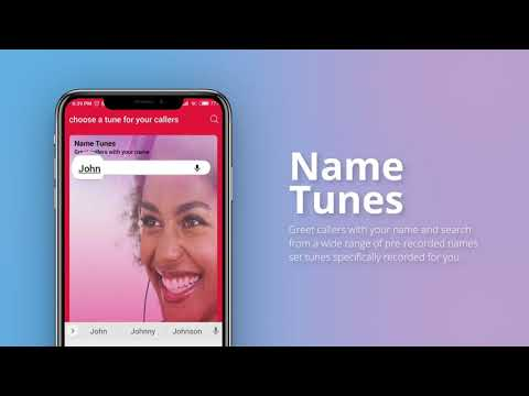 how to set caller tune in vodafone prepaid