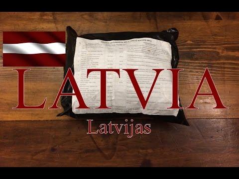 LATVIA 8 Hour Field Ration Menu #5   Sausās Uzturdevas NR 5