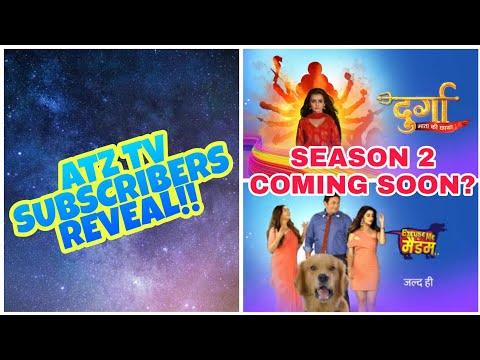 Kab Durga Aur Excuse Me Madam Season 2 Ayega?? + ATZ TV Subscribers Revealed 🎊🎉 Sunday Qna