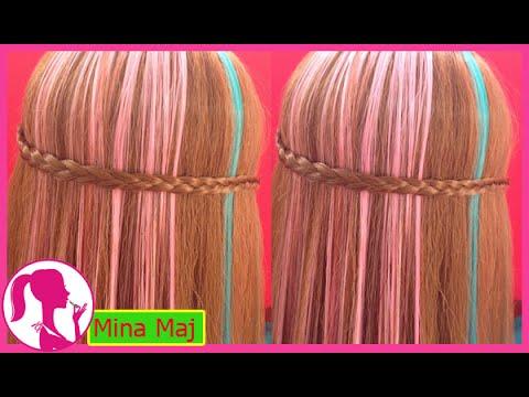 Hairstyles - Cách Tết Tóc Đơn Giản Đi Học