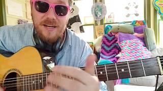 Talk - Khalid, Disclosure // easy guitar tutorial beginner lesson