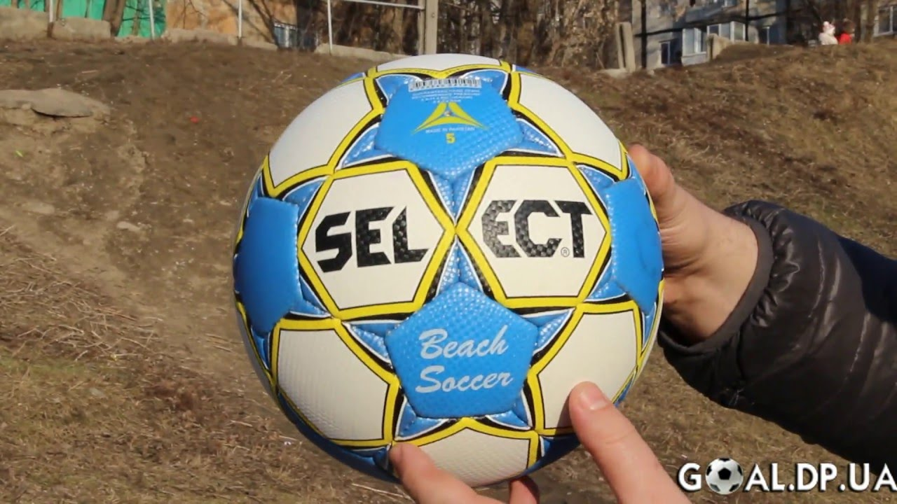 Мяч для пляжного футбола Select Beach Soccer - YouTube c6d3622c531