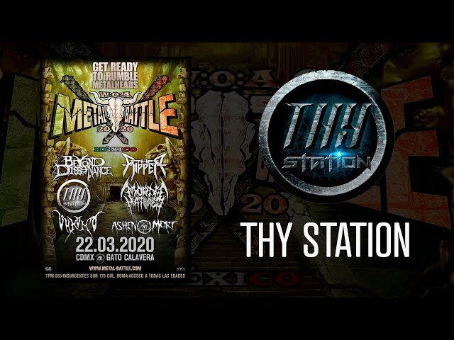 Thy Station en W:O:A Metal Battle México 2020