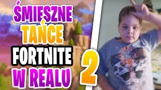 10 FUNNIEST FORTNITE DANCES IN REAL 2 😂