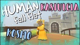 """""""Księżniczka na ZAMKU"""" HUMAN: Fall Flat z KOSmo❤ #5"""