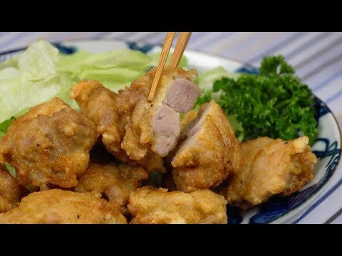 Double Fried Chicken Karaage Recipe (Crispy and Juicy Japanese Fried Chicken) | Cooking with Dog