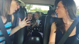 Kesha car karaoke praying