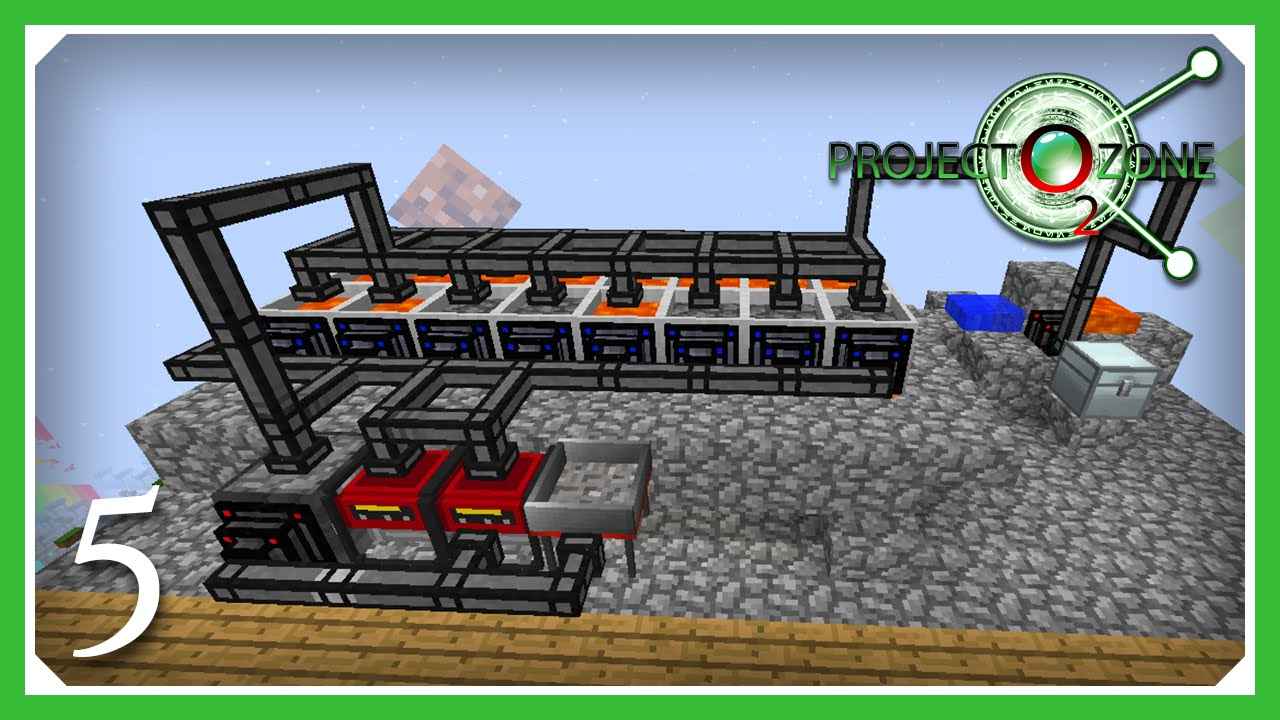 Project Ozone 2: Reloaded - Titan Mode | Lava Power Gen! | E05 (Modded  Skyblock Minecraft 1 7 10) by Ector Vynk