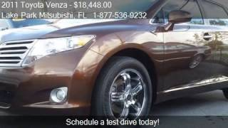 2011 Toyota Venza FWD 4cyl 4dr Crossover for sale in North P