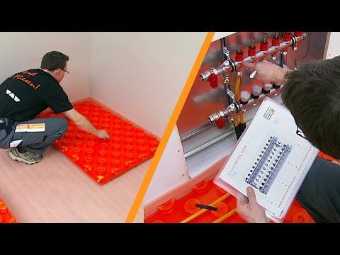 Riscaldamento a pavimento installazione youtube