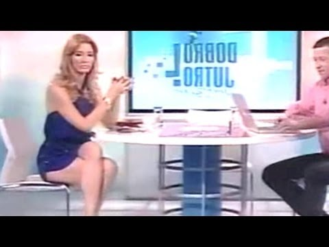 Jovana Jankovic Joksimovic Beautiful Serbian Tv Presenter 17.06.2011
