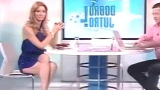 Jovana Jankovic Joksimovic Beautiful Serbian Tv Presenter 17.06.2011