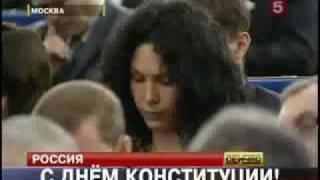 Выступление Медведева было прервано криком(Выступление Медведева было прервано криком