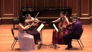 Schumann String Quartet in F major, Op. 41 No. 2